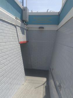 accès tunnel piétons côté résidence