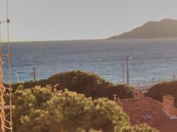 studio cabine vue mer