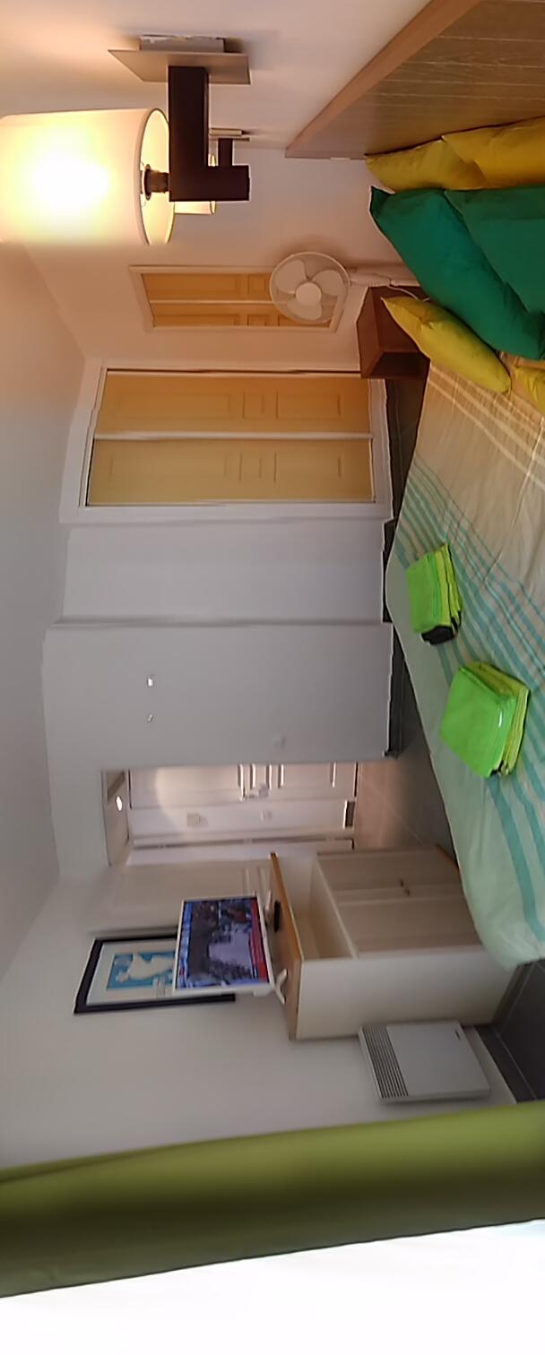 Chambre double avec TV