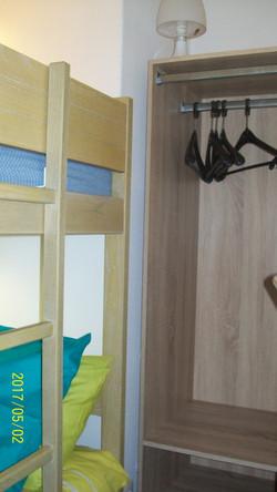 cabine double avec dressings