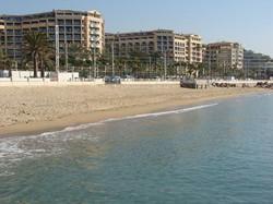 residence vue depuis la plage