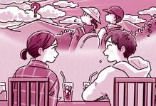 3月号基礎英語3ストーリーイラスト