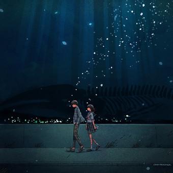 さよなら嘘つき人魚姫応援イラスト
