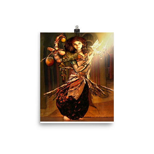 Lilith - Photo paper poster