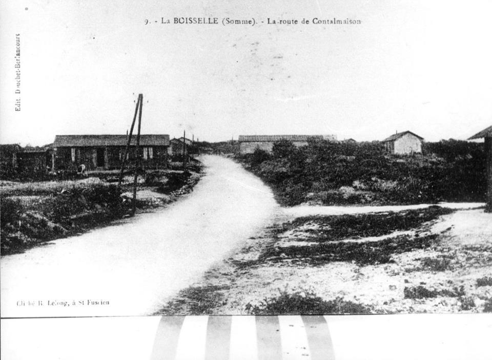 Route de Contalmaison