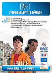 l'enseignement de défense en détail