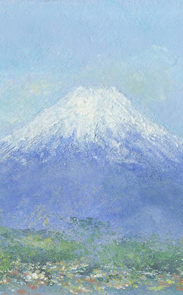 山梨から見える富士