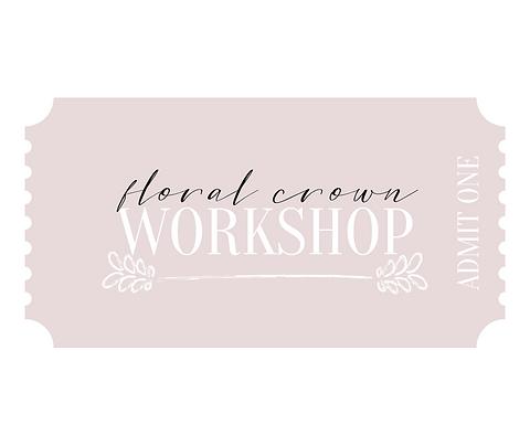 Workshop Ticket
