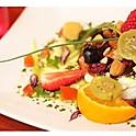 Pavé de Fromage de Chèvre , figues et Basilic