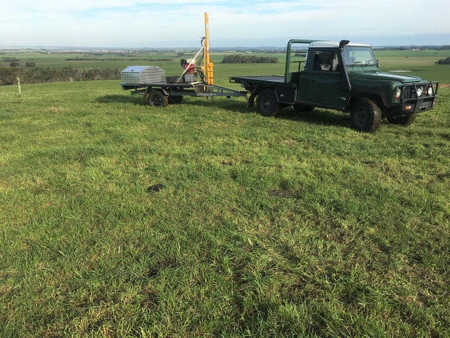 Reconnaissance for an ERF carbon farming project Inverloch VIC