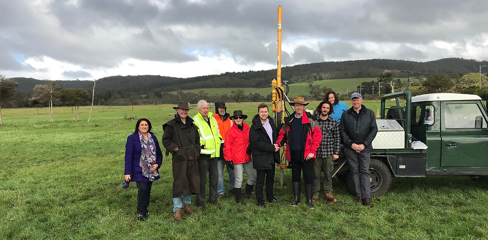 Launch of the Volt Farmer Climate Smart Farm Project in Dromana Victoria this month