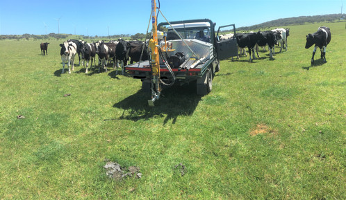 Soil sampling for dairy farmers