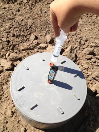 Nitrous oxide monitoring around Cowra NSW
