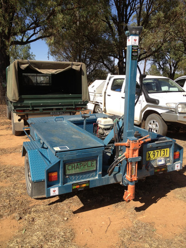 Parked up at a field day in Condobolin N
