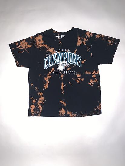 Custom Dyed Eagles Champions T-Shirt
