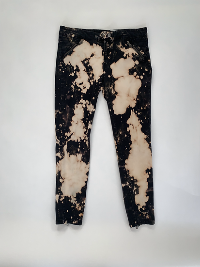 Custom Dyed Black Pants