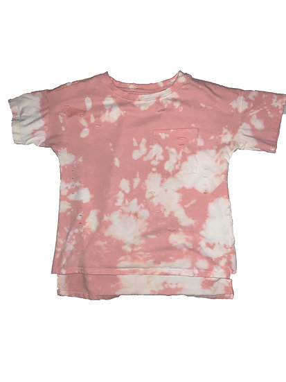 Custom Pink Dyed Shirt