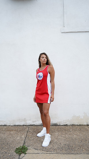 Vintage Sixers Jersey/Dress