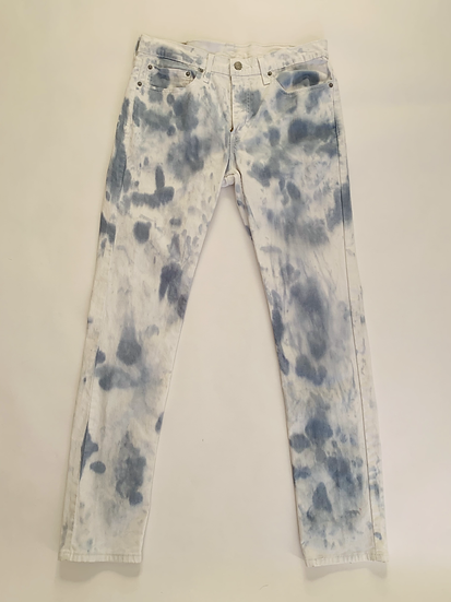 Custom Dyed Levi Jeans