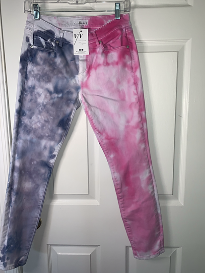 Custom Dyed Multi-Colored Jeans