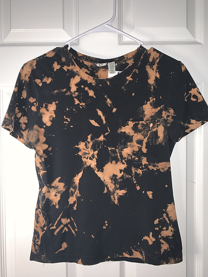 Custom Dyed Black Shirt