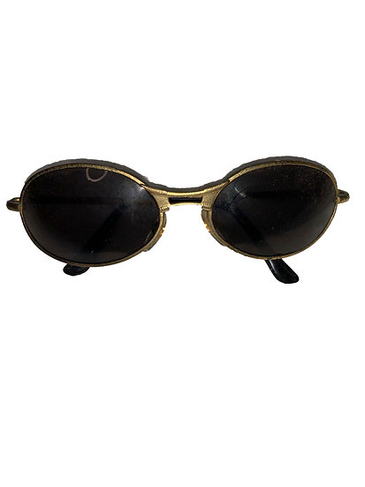 Vintage Gold Sunglasses