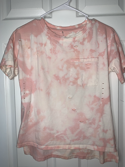 Pink Custom Dyed Shirt