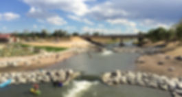 Denver, River Surfing, River Wave, Low Flow, River Surf Parks, Wave Shaper, Whitewater Parks, McLaughlin Whitewater Design Group