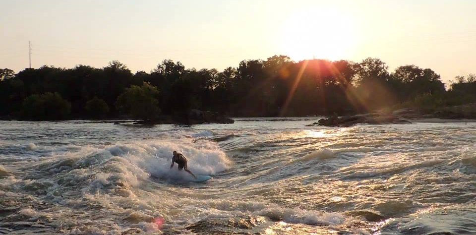 Columbus, River Surfing, River Wave, Whitewater Parks, McLaughlin Whitewater Design Group
