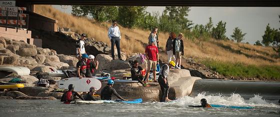 Denver, River Surfing, River Wave, Low Flow, River Surf Parks, Wave Shaper, Whitewater Parks, McLaughlin Whitewater Design Group
