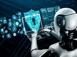 ai-robot-using-cyber-security-protect-in