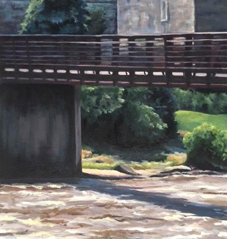 Below the Foot Bridge