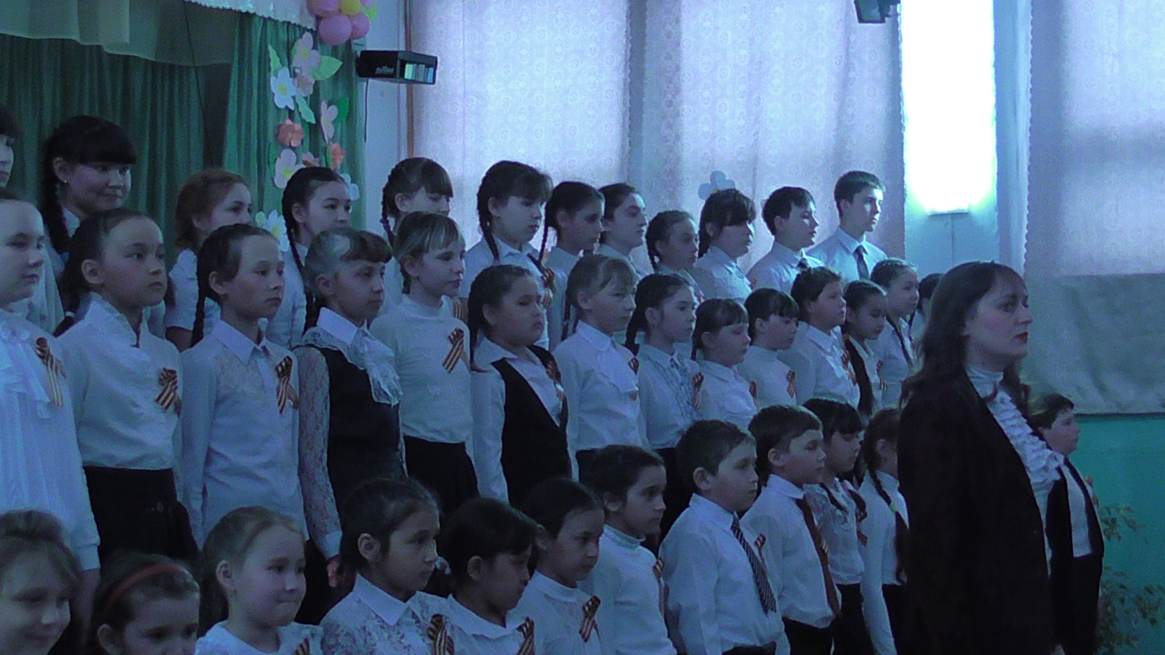 Концерт для жителей села и ветеранов