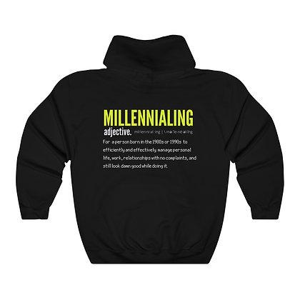 """MILLENNIAL-ING"" CLASSIC HOODIE"