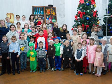 Расскажем смысл Рождества и НГ 70 детям