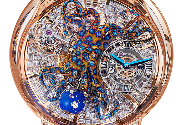 Jacob & Co. Astronomia Octopus Baguette Unique Piece