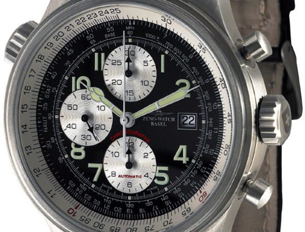OS Slide Rules Slide Rule Chronograph Date