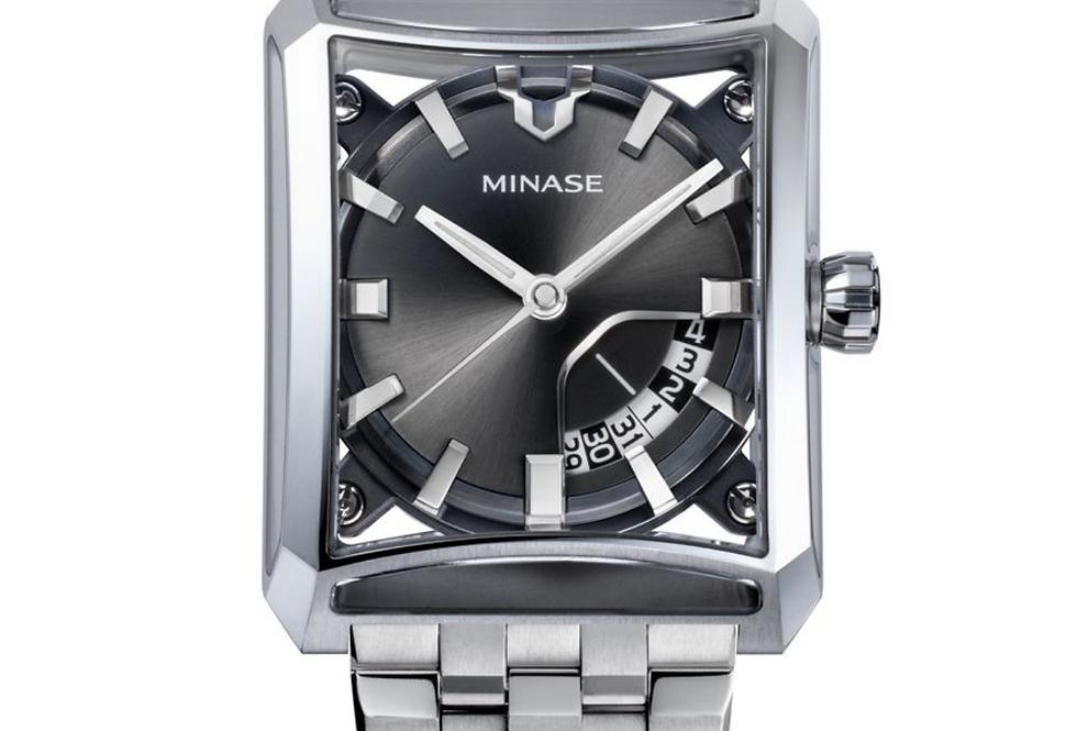 Minase 7-Windows Grey neuestes Modell 2021 Steel bracelet