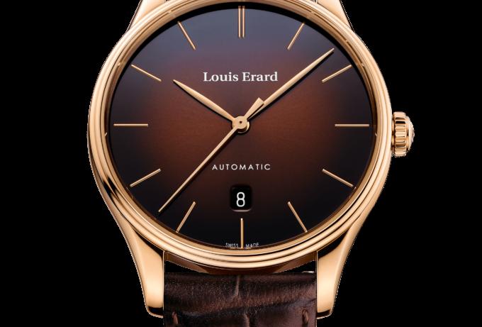 Louis Erard Héritage Dress Watch Optional: Blue Dial