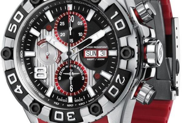 Oceania Sport Chronograph red