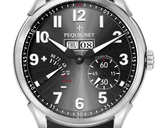 Pequignet Royale Titane, Power Reserve, Day-Date