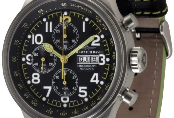 OS Pilot Minute bezel ring Chrono Day-Date