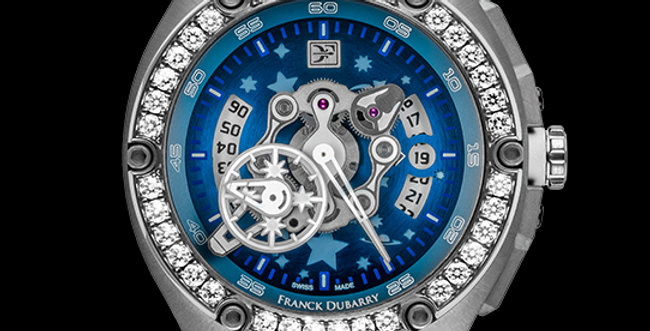 Franck Dubarry Crazy Wheel Lady Diamond