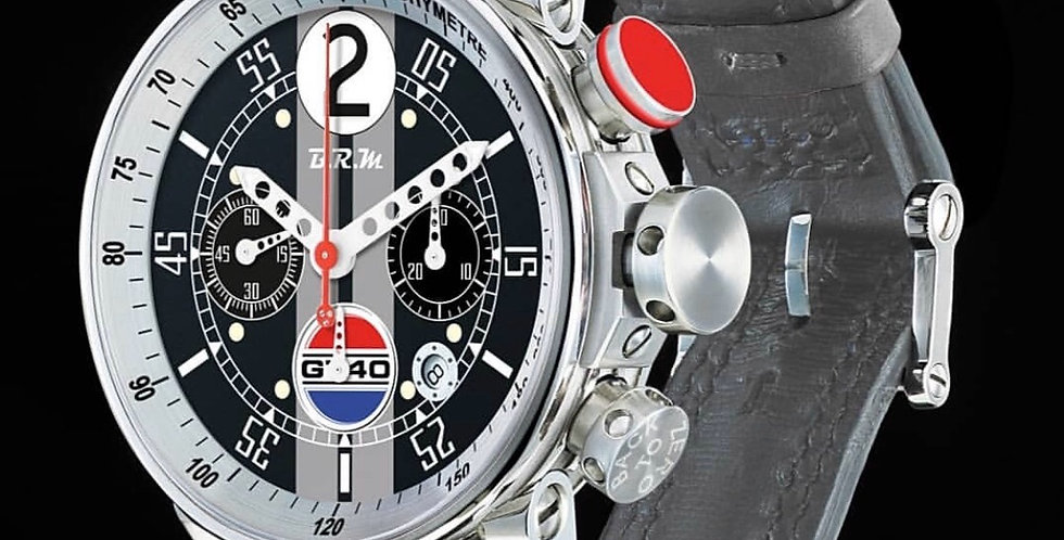 B.R.M Chrono V12 GT 40 Racing Le Mans limted 40 pieces