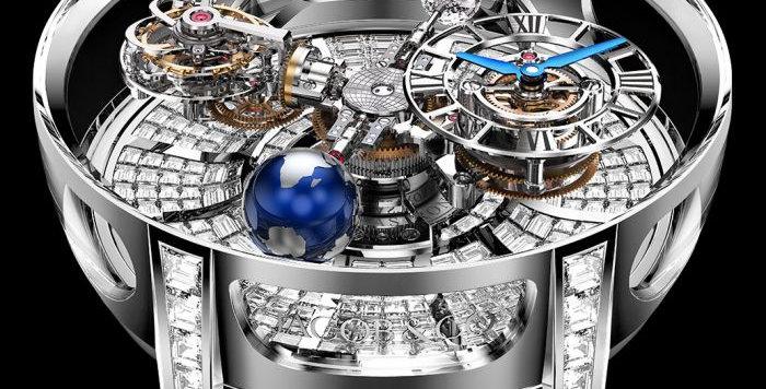Jacob & Co. Astronomia Tourbillon Baguette 18 Pieces Limited