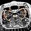 Thumbnail: Jacob & Co. Bugatti Chiron Tourbillon Baguette Black/orange sapp. Unique piece