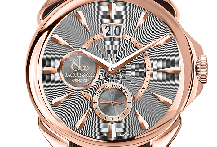 Jacob & Co. Palatial Classic manual Big Date, Rose Gold, 2 Options
