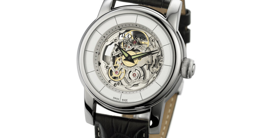 Pilo & Co Tempo White skeleton