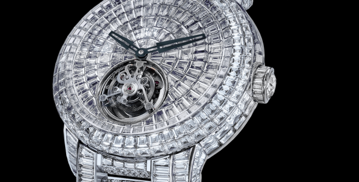 Jacob & Co. Caviar Tourbillon Diamond Bracelet