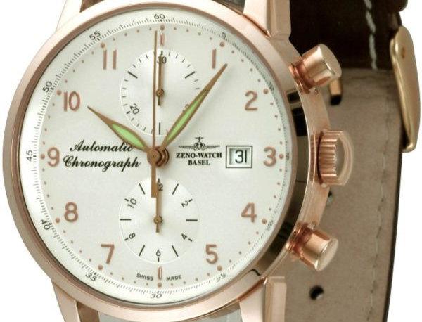 Magellano Chronograph Bicompax 18ct red gold